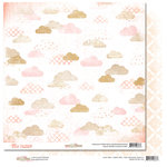 Glitz Design - Hello Friend Collection - 12 x 12 Double Sided Paper - Clouds
