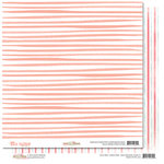 Glitz Design - Hello Friend Collection - 12 x 12 Double Sided Paper - Stripe