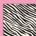 Glitz Designs - Hot Mama Collection - 12x12 Double Sided Paper - Zebra