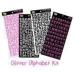 Glitz Design - Alphabet Sticker Kit