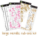 Glitz Design - Metallic Rub Ons Kit