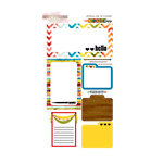 Glitz Design - Color Me Happy Collection - Cardstock Stickers - Journaling