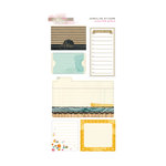 Glitz Design - Uncharted Waters Collection - Cardstock Stickers - Journaling
