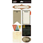 Glitz Design - Love Games Collection - Cardstock Stickers - Journaling