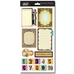 Glitz Design - Dance in Sunshine Collection - Cardstock Stickers - Journaling