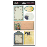 Glitz Design - Vintage Blue Collection - Cardstock Stickers - Journaling