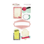 Glitz Design - Cashmere Dame Collection - Cardstock Stickers - Journaling