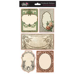 Glitz Design - French Kiss Collection - Cardstock Stickers - Journaling