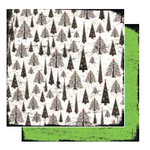 Glitz Design - Kringle Collection - 12x12 Double Sided Paper - Trees, CLEARANCE