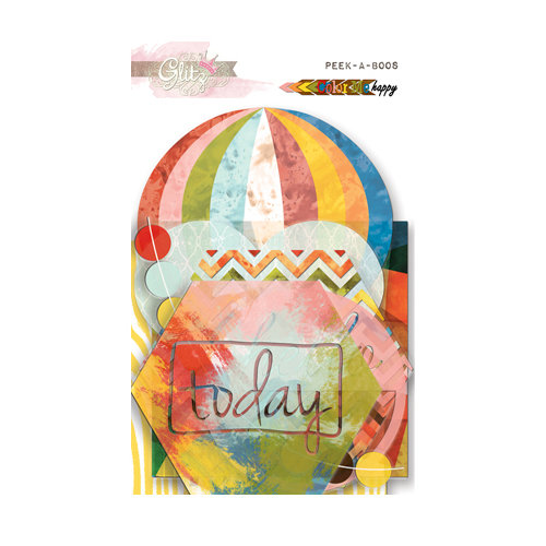 Glitz Design - Color Me Happy Collection - Transparency Pieces - Peek-A-Boo
