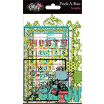 Glitz Design - Hoopla Collection - Transparency Pieces - Peek-A-Boo, CLEARANCE