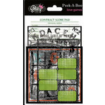 Glitz Design - Love Games Collection - Transparent Pieces - Peek-A-Boo