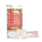 Glitz Design - Hello Friend Collection - Transparency Pieces - Peek-A-Boo