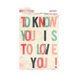 Glitz Design - Love You Madly Collection - Paper Layers