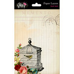 Glitz Design - Love Nest Collection - Paper Layers - 5 x 7, BRAND NEW