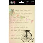 Glitz Design - Afternoon Muse Collection - Paper Layers, CLEARANCE