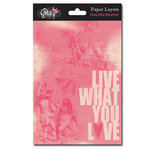 Glitz Design - Beautiful Dreamer Collection - Paper Layers
