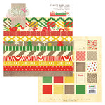 Glitz Design - Hello December Collection - Christmas - 6 x 6 Paper Pad
