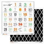Glitz Design - Raven Collection - Halloween - 12 x 12 Double Sided Paper - Countdown