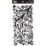 Glitz Designs - Rub Ons - Glam 12 Inch Flourish, CLEARANCE