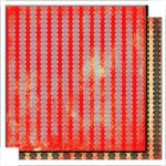 Glitz Design - Scarlett Collection - 12 x 12 Double Sided Paper - Stripe
