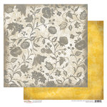 Glitz Design - Sunshine in My Soul Collection - 12 x 12 Double Sided Paper - Floral