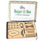 Glitz Design - Dapper Dan Collection - Rubber Stamps