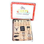 Glitz Design - Finnley Collection - Rubber Stamps