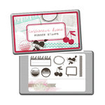 Glitz Design - Cashmere Dame Collection - Rubber Stamps