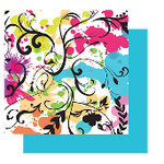 Glitz Design - Sublime Collection - 12x12 Double Sided Paper - Sublime Splatter