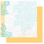 Glitz Designs - Sublime Collection - 12x12 Double Sided Paper - Sublime Vines, CLEARANCE