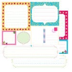 Glitz Designs - Sublime Collection - 12x12 Double Sided Paper - Sublime Journaling, CLEARANCE