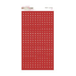 Glitz Design - Yours Truly Collection - Cardstock Stickers - Teeny Alphabet - Red