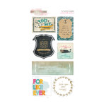 Glitz Design - Uncharted Waters Collection - Cardstock Stickers - Titles