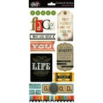 Glitz Design - Love Games Collection - Cardstock Stickers - Titles