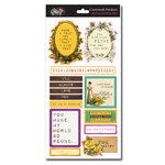 Glitz Design - Dance in Sunshine Collection - Cardstock Stickers - Titles