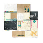 Glitz Design - Uncharted Waters Collection - 12 x 12 Double Sided Paper - Bits and Pieces