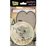 Glitz Design - Vintage Love Collection - Whatnots - Vintage Cards, BRAND NEW