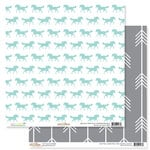 Glitz Design - Wild and Free Collection - 12 x 12 Double Sided Paper - Horses