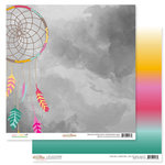 Glitz Design - Wild and Free Collection - 12 x 12 Double Sided Paper - Dream Catcher