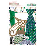 Glitz Design - Dapper Dan Collection - Cardstock Pieces - Whatnots