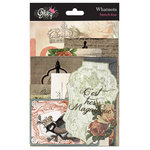 Glitz Design - French Kiss Collection - Cardstock Pieces - Whatnots