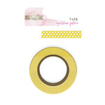 Glitz Design - Yours Truly Collection - Washi Tape - Yellow Polka