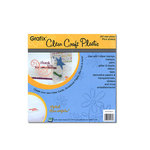 Grafix - Clear Craft Plastic - 6 x 6 - Thin, CLEARANCE