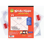Green Sneakers - Kreate-a-Lope - Envelope Maker - Mini Kit - Artist Trading Card, Money, Biz, RSVP