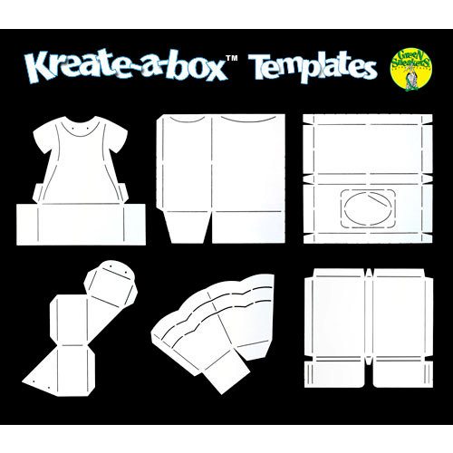 Green Sneakers - Kreate-a-Box - Template - Mega Kit