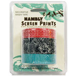 Hambly Studios - Screen Prints - Decorative Washi Tape - Set 2