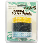 Hambly Studios - Screen Prints - Decorative Washi Tape - Set 3