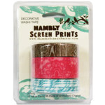 Hambly Studios - Screen Prints - Decorative Washi Tape - Set 4