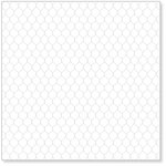 Hambly Studios - Screen Prints - 12 x 12 Overlay Transparency - Chicken Coop - Metallic Silver